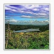 View From The Hilltop 2 Art Print