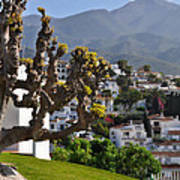 View From The Parador Nerja Art Print
