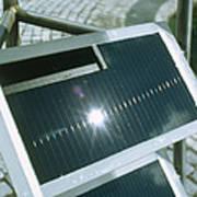 View Of An Amorphous Solar Cell Art Print