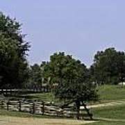 View Of Appomattox Courthouse 2 Art Print