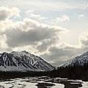 View Of Quill Creek In Kluane National Art Print