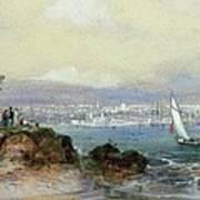 View Of Sydney Harbour Art Print
