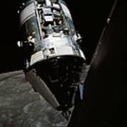 View Of The Apollo 17 Command Art Print