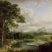 View Of The City Of Edinburgh Art Print