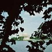 View Of The Jefferson Memorial Art Print