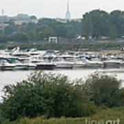 View On River Art Print