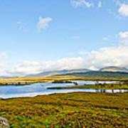 View Over Loch Ba Art Print