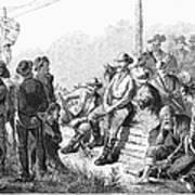 Vigilante Court, 1874 Art Print by Granger