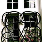 Viking Window  Art Print