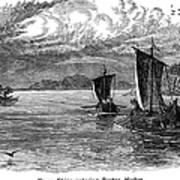 Vikings: North America Art Print