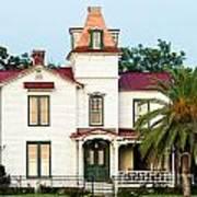Villa Villekulla The Pippi Longstocking House Amelia Island Florida Art Print