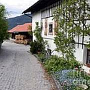 Village In Tyrol Art Print