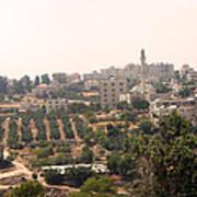 Village Of Beitin Art Print
