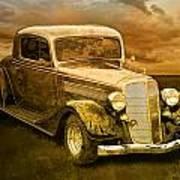 Vintage Automobile No.007 Art Print