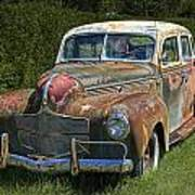 Vintage Automobile No.0488 Art Print