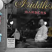 Vintage Barbershop 2 Art Print