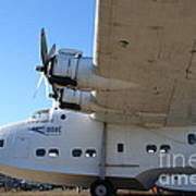 Vintage Boac British Overseas Airways Corporation Speedbird Flying Boat . 7d11291 Art Print by Wingsdomain Art and Photography
