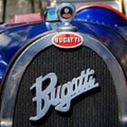 Vintage Bugatti Art Print