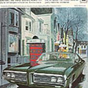 Vintage Gm Pontiac Art Print