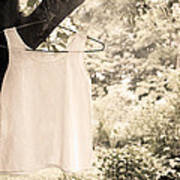 Vintage Linen Cami Art Print
