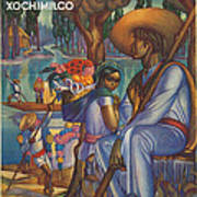 Vintage Mexico Travel Poster Art Print