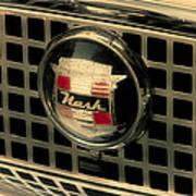 Vintage Nash Auto Grill Art Print
