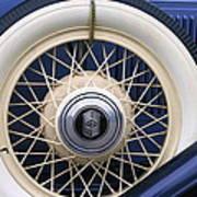 Vintage Nash Tire Art Print