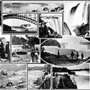 Vintage Niagara Falls Art Print