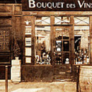 Vintage Paris 4 Art Print