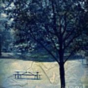Vintage Park Art Print