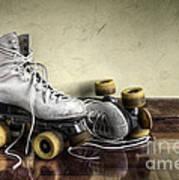 Vintage Roller Skates  Art Print