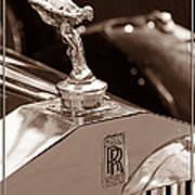 Vintage Rolls Royce 1 Art Print
