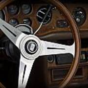 Vintage Rolls Royce Dash Art Print