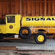 Vintage Signal Gasoline Truck . 7d12935 Art Print