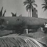 Vintage Submarine Art Print