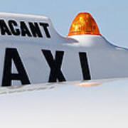 Vintage Taxi Art Print