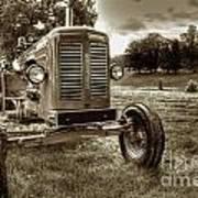 Vintage Tractor Art Print