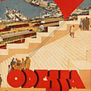 Vintage Ukraine Travel Poster Art Print