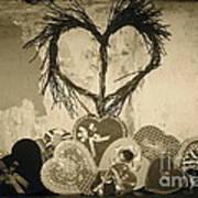 Vintage Valentine  Art Print