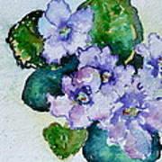 Violet Cluster Art Print