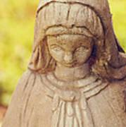 Virgin Mary Statue Art Print