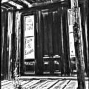 Virginia City Ghost Town Door II Art Print