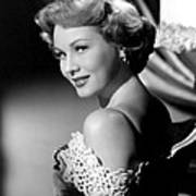 Virginia Mayo, Ca. Early 1950s Art Print by Everett