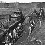 Virginia: Railroad, C1861 Art Print