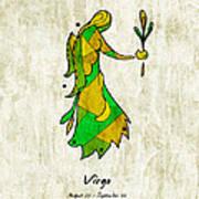 Virgo Artwork Art Print