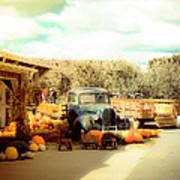 Visit The Pumpkin Patch Art Print