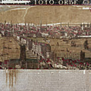 Visscher: London, 1650 Art Print