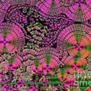 Vitamin C Crystals Spikeberg Art Print