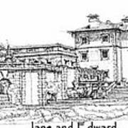 Vizcaya For Jane And Edward Art Print