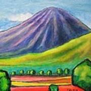 Volcan Mombacho Nicaragua Art Print